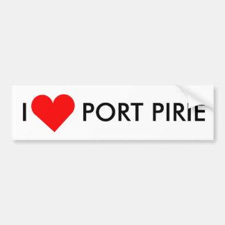 I Heart Port Pirie Bumper Sticker