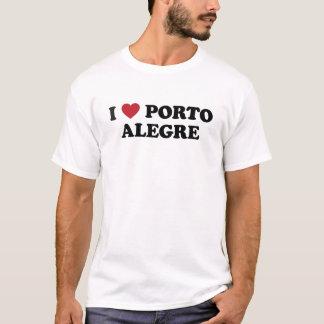 I Heart Porto Alegre Brazil T-Shirt