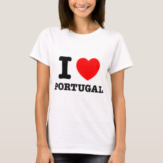 I Heart Portugal T-Shirt