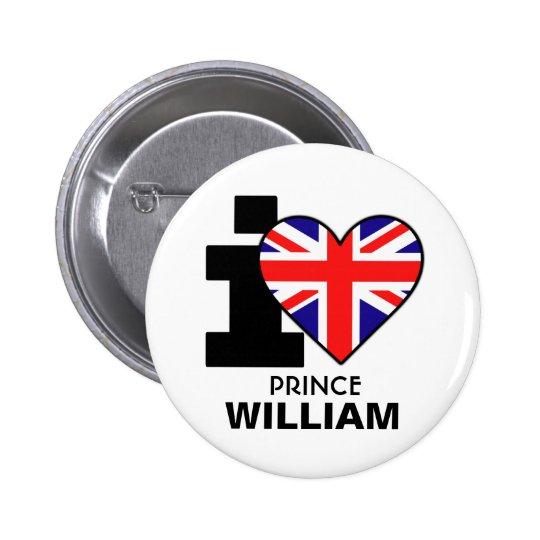 I Heart Prince William Button