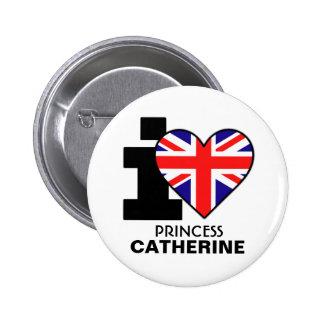 I Heart Princess Catherine Button