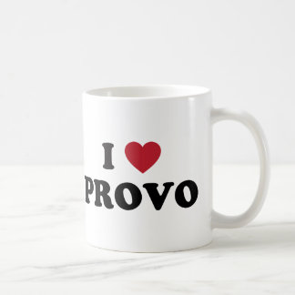 I Heart Provo Utah Coffee Mug