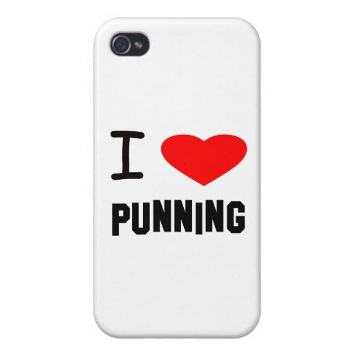 I Heart punning iPhone 4/4S Cover