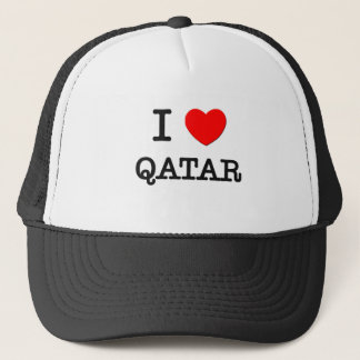 I HEART QATAR TRUCKER HAT