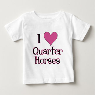 I Heart Quarter Horses Shirt