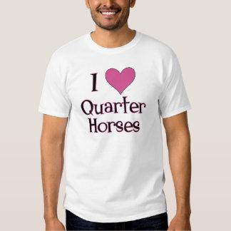 I Heart Quarter Horses Tees