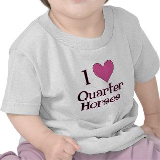 I Heart Quarter Horses T-shirt