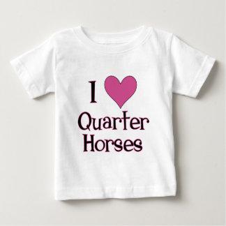 I Heart Quarter Horses Shirts