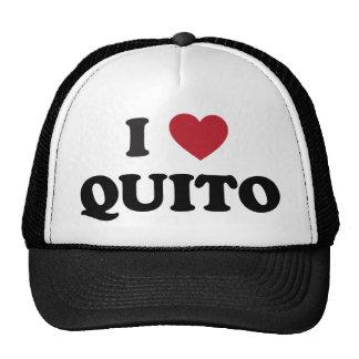 I Heart Quito Ecuador Cap