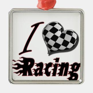 I Heart Racing #2 Christmas Ornament