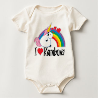 I Heart Rainbows Bodysuits