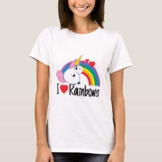 I Heart Rainbows T-Shirt