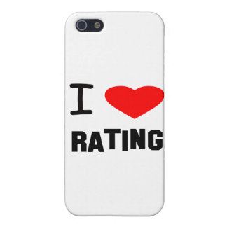 I Heart rating Cover For iPhone 5