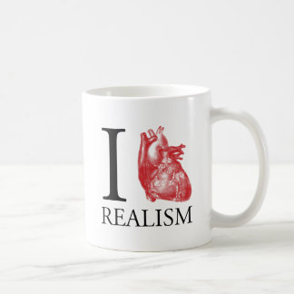 I Heart Realism Basic White Mug