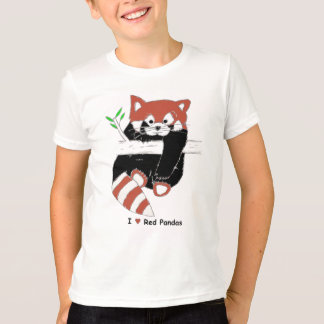 I Heart Red Pandas T-Shirt