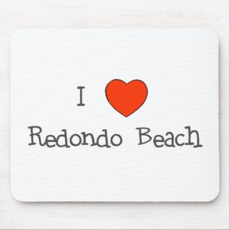 I Heart Redondo Beach Mouse Pad