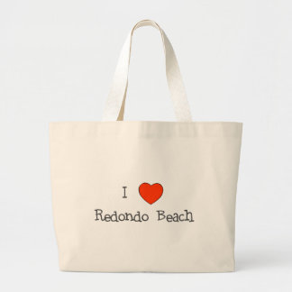 I Heart Redondo Beach Jumbo Tote Bag