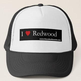 I Heart Redwood, Dana Surfboards Trucker Hat