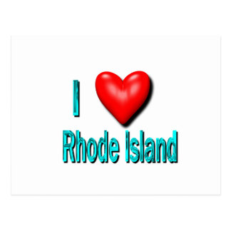 I Heart Rhode Island Postcard