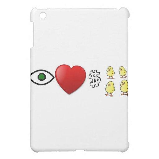 I Heart Rich Chicks iPad Mini Covers