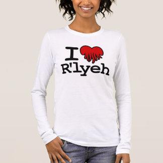 I Heart R'lyeh Long Sleeve T-Shirt