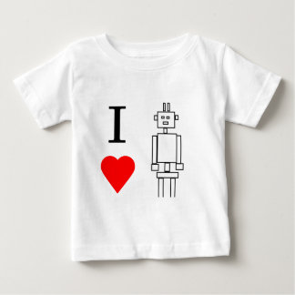 i heart robots baby T-Shirt