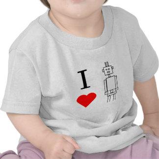 i heart robots tshirts