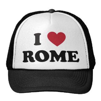 I Heart Rome Italy Cap