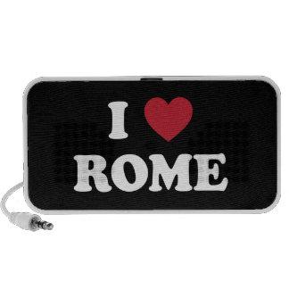 I Heart Rome Italy Notebook Speaker