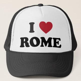 I Heart Rome Italy Trucker Hat