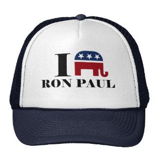 I heart Ron Paul Cap