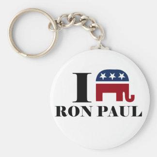 I heart Ron Paul Keychain