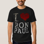 I heart Ron Paul t shirt