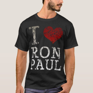 I heart Ron Paul t shirt