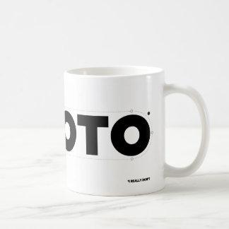 I HEART ROTO* (I Really Don't) Coffee Mug