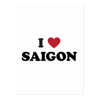I Heart Saigon Vietnam Ho Chi Minh City Postcard