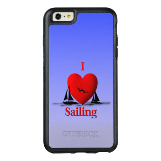 I Heart Sailing OtterBox iPhone 6/6s Plus Case
