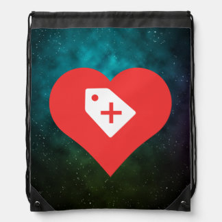 I Heart Sales Icon Backpack