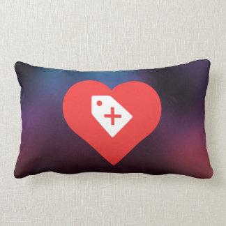I Heart Sales Icon Cushion