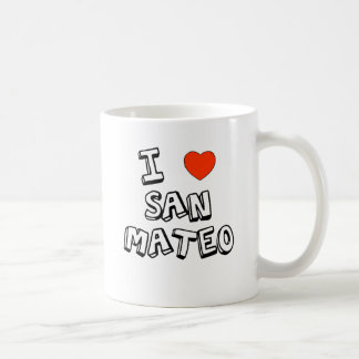 I Heart San Mateo Coffee Mug