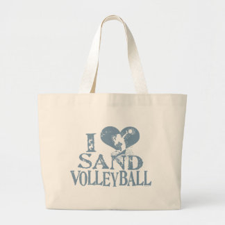 I Heart Sand Volleyball Bags