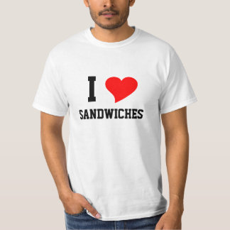 I Heart SANDWICHES T-Shirt