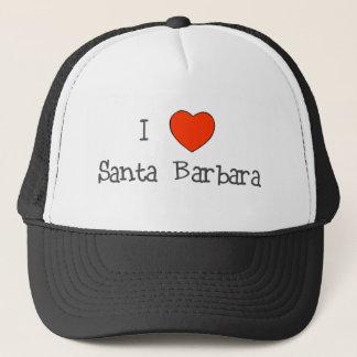 I Heart Santa Barbara Trucker Hat