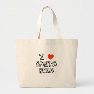 I Heart Santa Rosa Jumbo Tote Bag