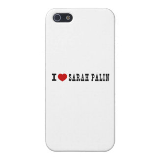 I (Heart) Sarah Palin Covers For iPhone 5