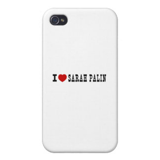 I (Heart) Sarah Palin Covers For iPhone 4