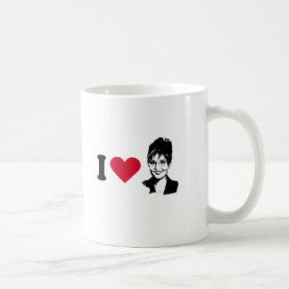 I HEART SARAH PALIN COFFEE MUG