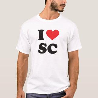 I Heart SC - South Carolina T-Shirt