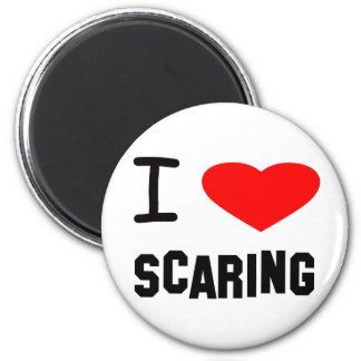 I Heart scaring Magnet