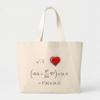 I heart Schrodinger equation Bags